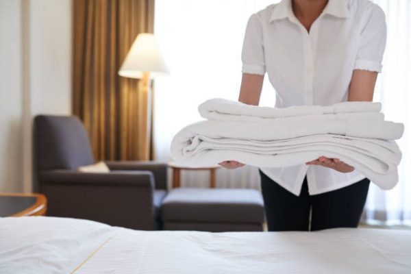 Пране на хотелско спално бельо 106